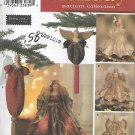 Simplicity 8925 (1999) Christmas Holiday Angel Collection Tree Topper Ornament Pattern UNCUT