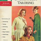 Vintage Singer Sewing Library (1962) How to do Dressmaker Tailoring Booklet