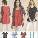 Simplicity 8052 (2016) Top Blouse Tunic Pattern Size 4 6 8 10 12 14 16 18 20 22 24 26 UNCUT