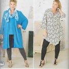 Simplicity 8097 (2016) Leggings Kimono Top Tunic Jacket Pattern Plus Size 18W 20W 22W 24W UNCUT