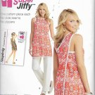 Simplicity 1133 (2015) Wrap Beach Cover-up Tunic Pants Pattern Size 6 8 10 12 14 16 18 UNCUT