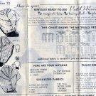 Vintage Mail Order Pattern 8262 Blouse Top Shirt Size 12