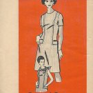 Vintage Mail Order Pattern 4516 Dress Size 16 1/2 UNCUT