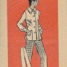 Ann Adams Vintage Mail Order Pattern 4824 Jacket Pants Size 10 CUT