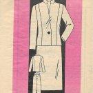 Ann Adams Vintage Mail Order Pattern 4517 Skirt Jacket Size 10 CUT