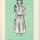 Ann Adams Vintage Mail Order Pattern 4765 Dress Size 10 CUT