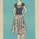 Vintage Printed Pattern Mail Order 4853 Dress Jacket Pants Size 20 UNCUT
