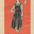 Vintage Mail Order Printed Pattern 9165 Top Shirt Blouse Jumper Dress Size 38 UNCUT