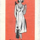 Vintage Mail Order Printed Pattern 4579 Slip Sun Dress Size 40 UNCUT