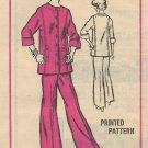 Vintage Prominent Designer Sylvan Rich Mail Order Pattern A583 Pants Jacket Size 18 UNCUT