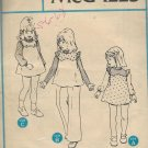 McCalls 4640 (1975) Vintage Childs Girls Jumper Top Blouse Pants Pattern Size 5 6 6X CUT