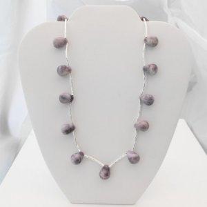 Jade Teardrop Necklace