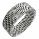 Steel Mesh Ring (sz.10½)
