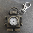 Robot Clock Key Chain