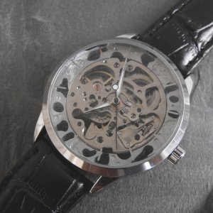 Skeleton See Through Mechanical Watch