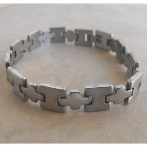 Stainless Steel Bracelet Plus Design