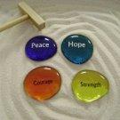 Lot of 4 Inspiration Stones