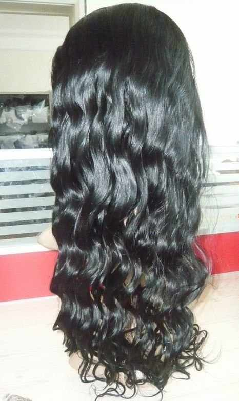 100% Indian Remy Front Lace Wig Body Wave 14 inches