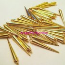 Small Gold Spikes 35mm 36 PCS