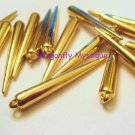 Large Gold Spikes 36 Pcs 51mm