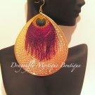 Colorful Dangle Fashion Earrings