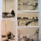 New York World's Fair 1939 Postcards - Lot of 5