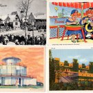 Century of Progress Chicago World's Fair Postcards (ca. 1933) - Lot of 4