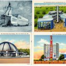 New York World's Fair Postcards (ca. 1939) - Lot of 4
