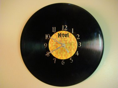 Vinyl Record Wall Clock - Disco Dynamite