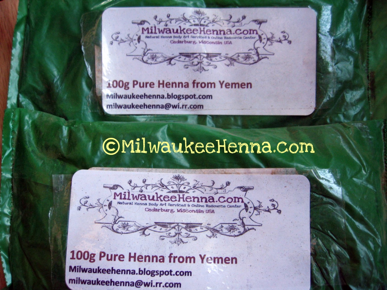 100gm Fresh Organic Henna Powder from Yemen