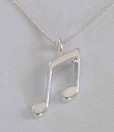Music Note Necklace (PS-CH-1015)