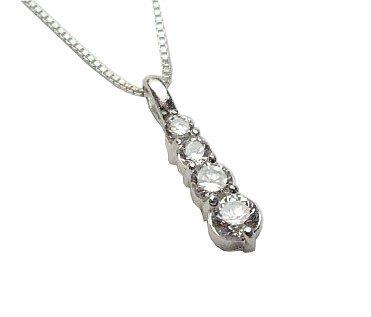 4 Stone Journey Necklace (SJD-22)