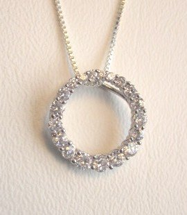 Circle of Life Necklace (3585-PSCH)