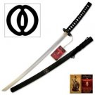 "Bushido ""Heroic Courage"" 42"" Samurai Sword Katana and Scabbard"