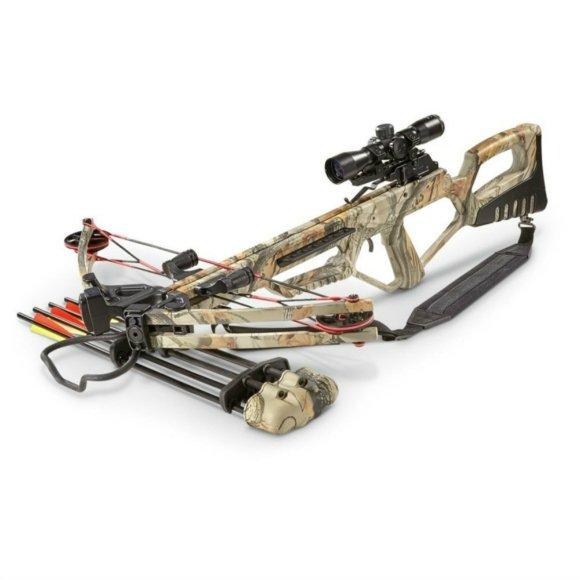 MTech USA Falcon 185 LB Camo Cross bow Crossbow