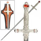 """Harry Potter Sword House of Gryffindor Magical Wizard 31"""" Sword Collectible"""