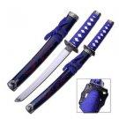 """Blue Dragon Samurai 21"""" Sword with Scabbard Collectible"""