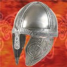 Celtic Dog Deeply Embossed Viking Helmet 18 Guage Steel Collectible