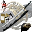 "Ryumon Hand Forged Emperor Samurai 41.5"" Sword with Scabbard Collectible"