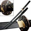 """Samurai Damascus Blade 42"""" Sword with Scabbard Collectible"""