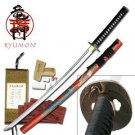 "Red Phoenix Ryumon 42"" Sword with Scabbard Collectible"