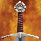 """The Accolade Knights Templar 40"""" Sword with Scabbard Medieval Collectible"""