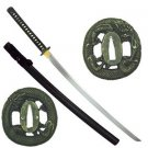 "Bushido Dragon Samurai Hand-Forged  Katana 41"" Sword with Scabbard Collectible"