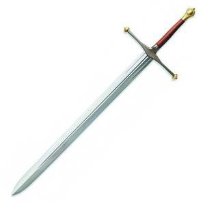 "Eddard Stark Game of Thrones 58"" Sword Officially Licensed Collectible"