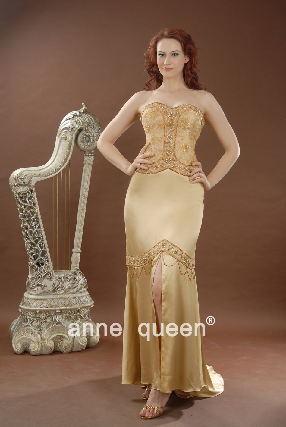 Anne Queen Pageant Evening Dress Size 6