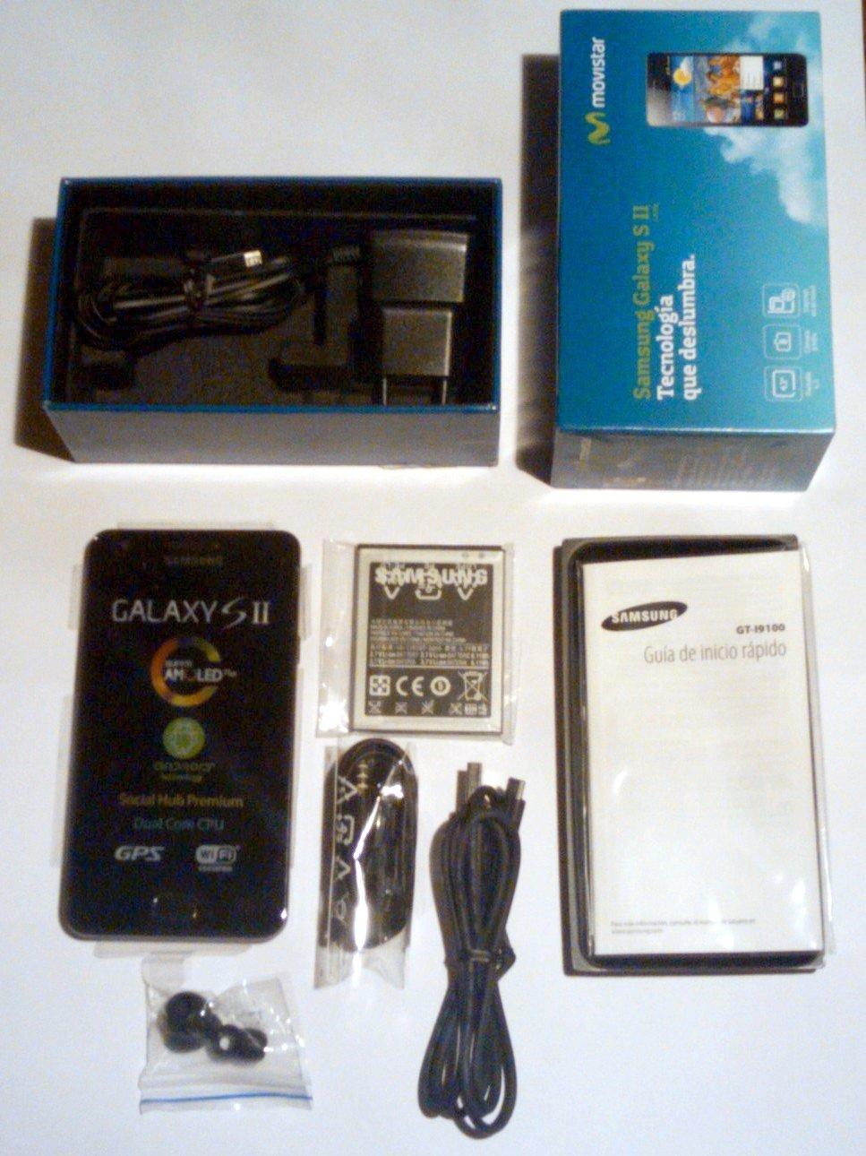 Samsung Galaxy S2 - Movistar Spain