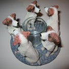 Continental Creations: Jack Russell Candle Holder