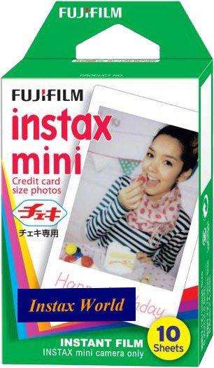 5Packs Instax Mini Film (White)