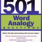 501 Word Analogy Questions : Master This Logic and Reasoning Skill and Score...