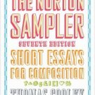 The Norton Sampler : Short Essays for Composition (2010, Paperback)